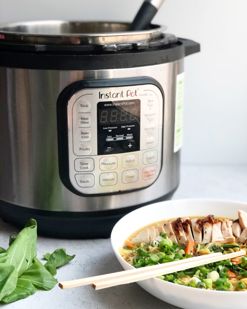 how to make homemade ramen in the Instant Pot