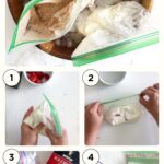 ice cream in a bag steps