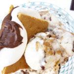 S'mores Gelato with Creamy Nutella