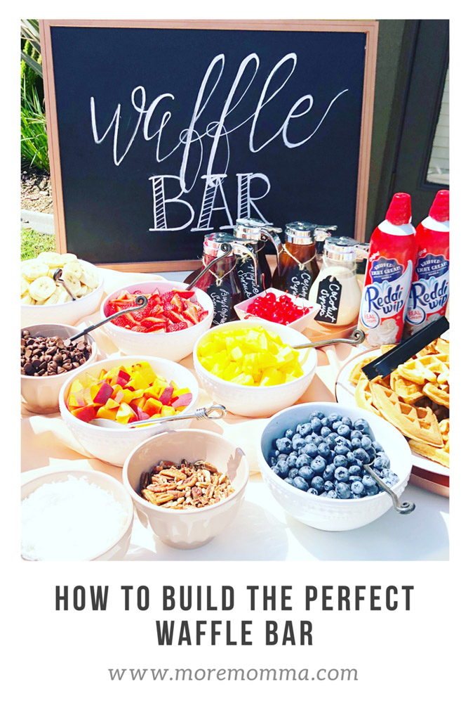 Waffle Bar from More Momma