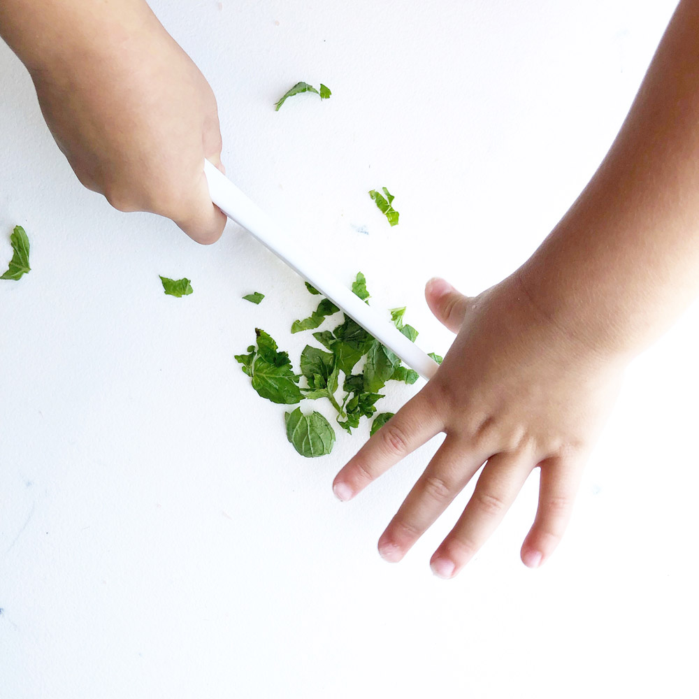 Knife skills from More Momma kid friendly recipes