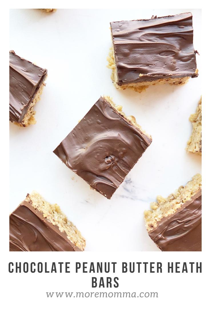 Chocolate Peanut Butter Health Krispy Bars