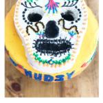 Skull Halloween Cake