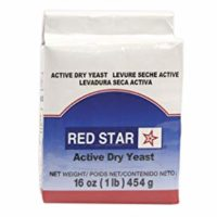 Red Star Active Dry Yeast 16 oz (1 pound) size