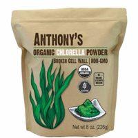 Anthony's Organic Chlorella Powder, 8oz, Non GMO, Gluten Free, Broken Cell Wall