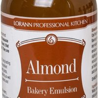 LorAnn Almond Bakery Emulsion, 4 ounce bottle