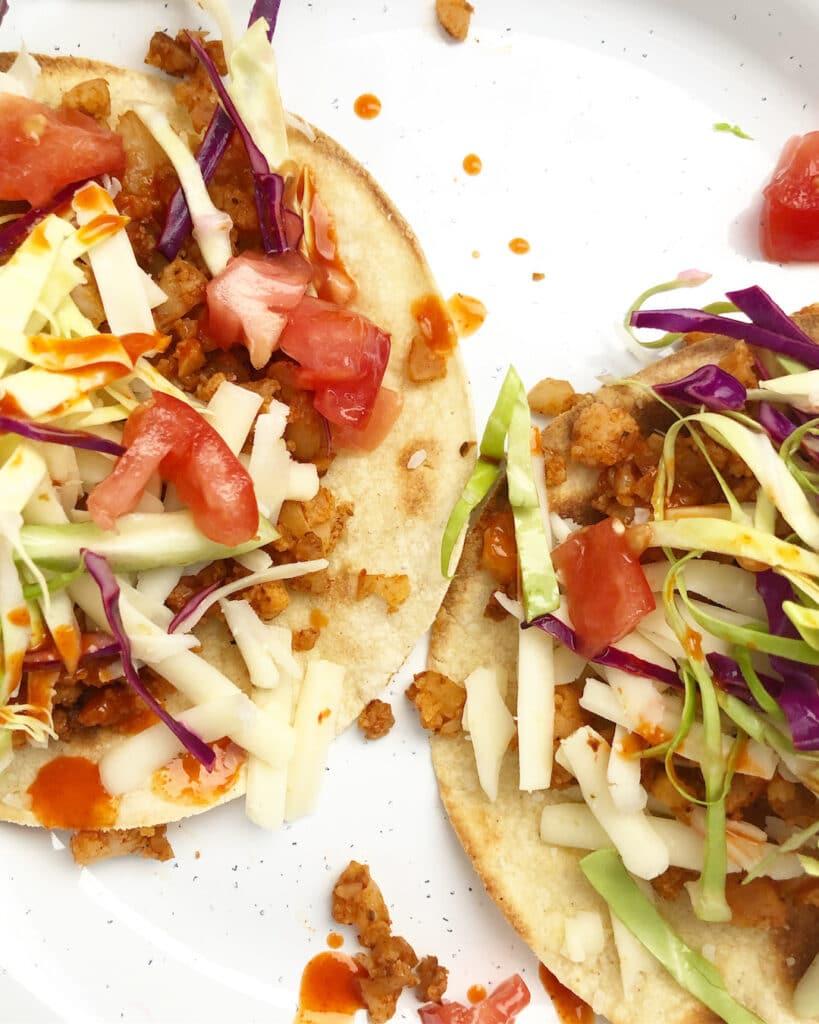 cauliflower taco meat