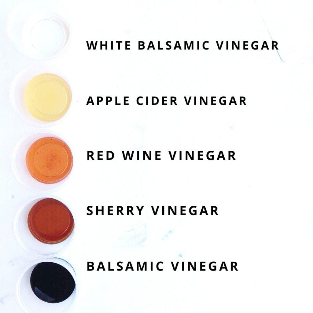 vinegar chart