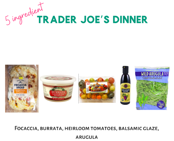 5 Ingredient Trader Joe's Dinner