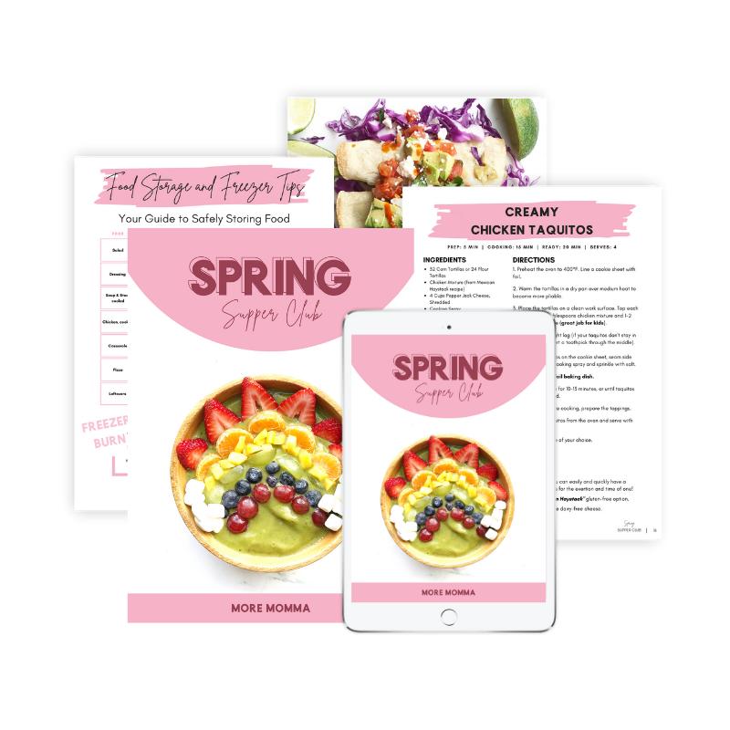 Spring Meal Plan