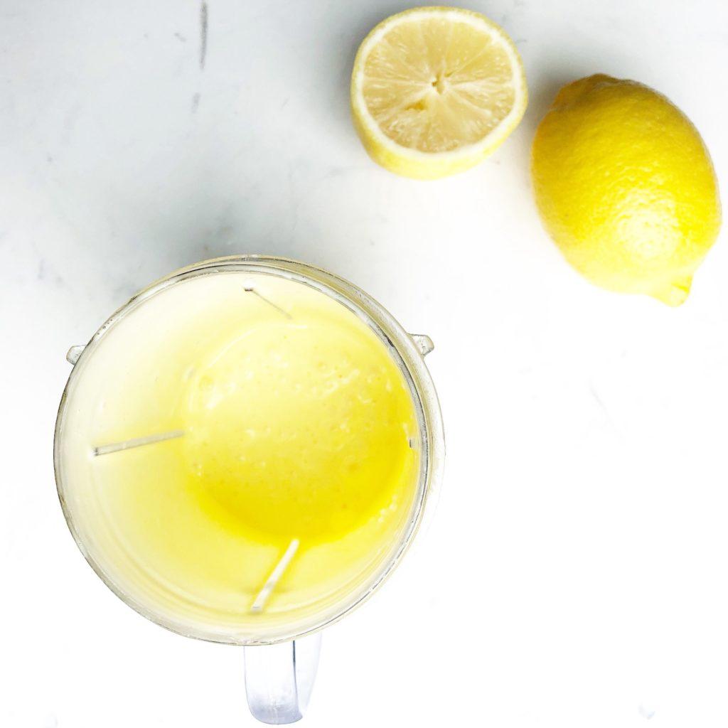 blender lemon hollandaise