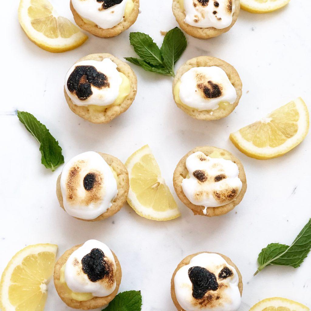 3-Ingredient Lemon Meringue Pies