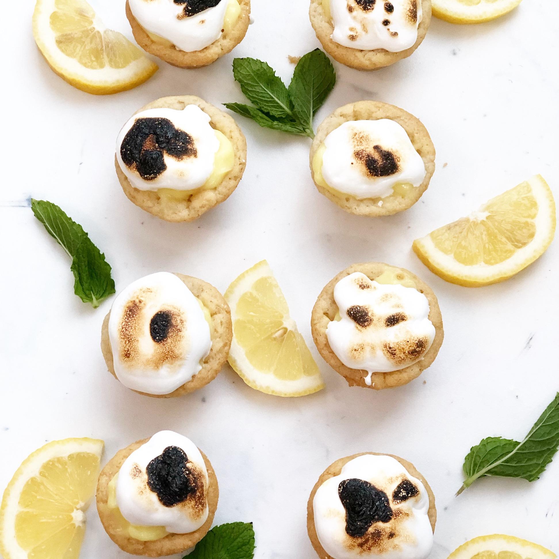 3-Ingredient Mini Lemon Pies