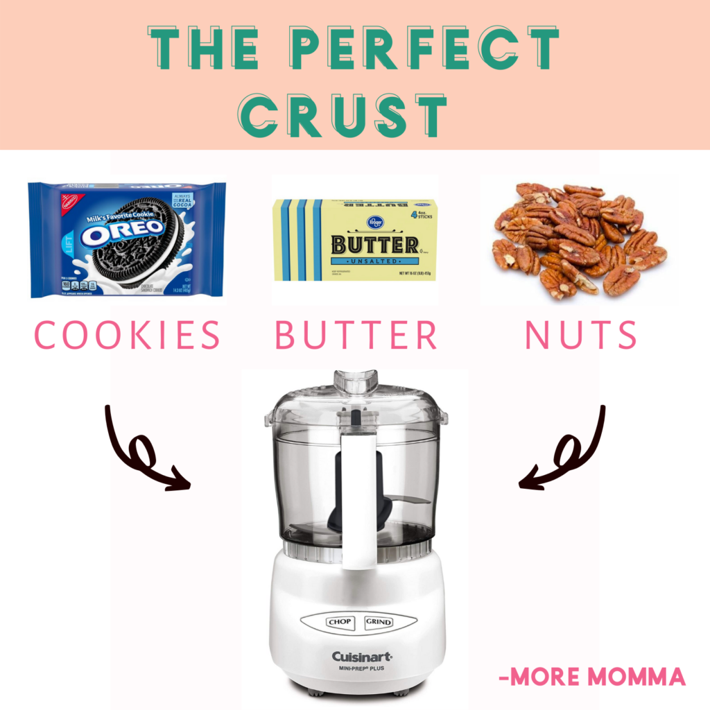 Perfect Crust Ingredients: Cookies, Nuts, Butter