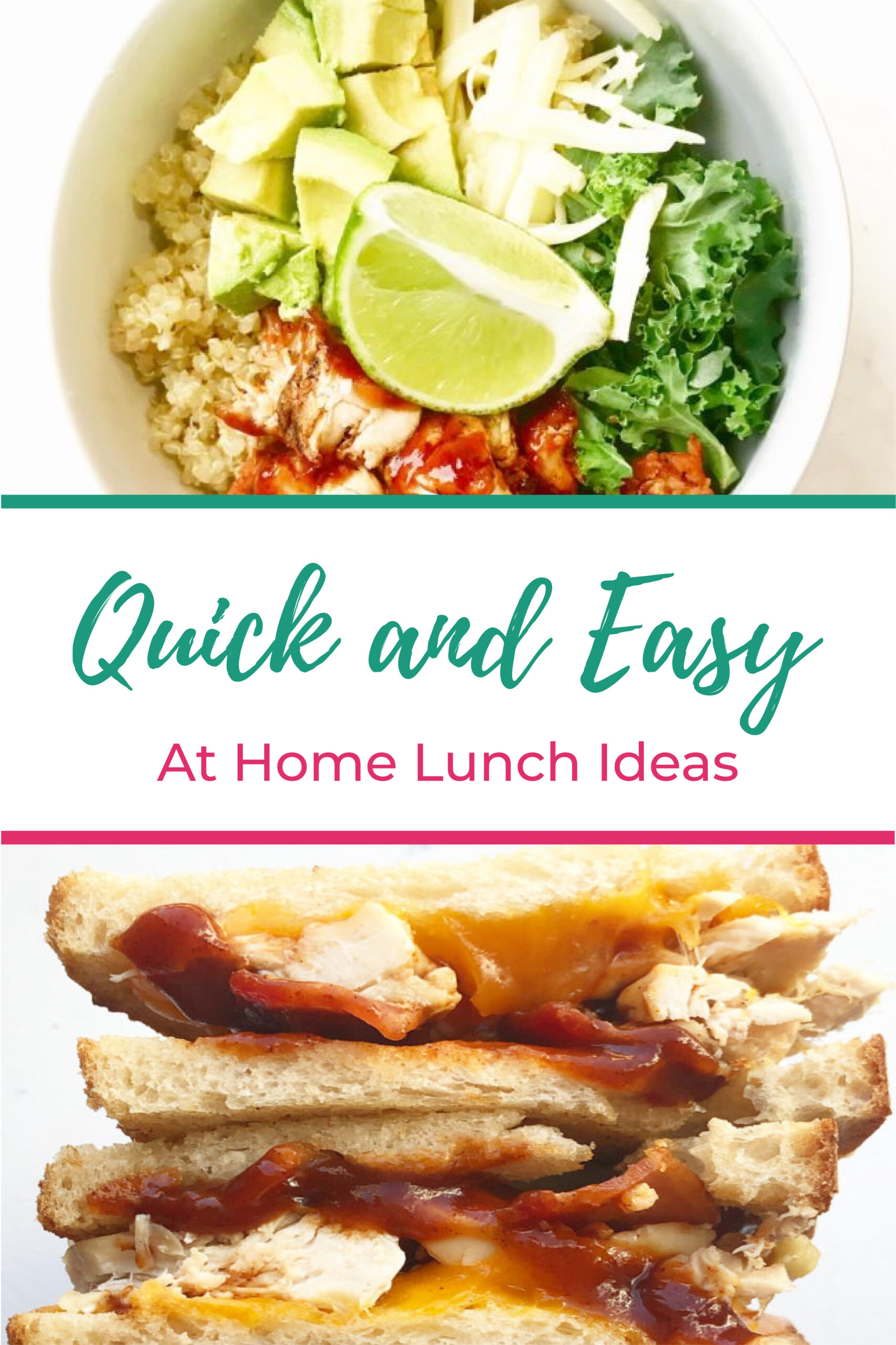 Quick and Easy At Home Lunch Ideas