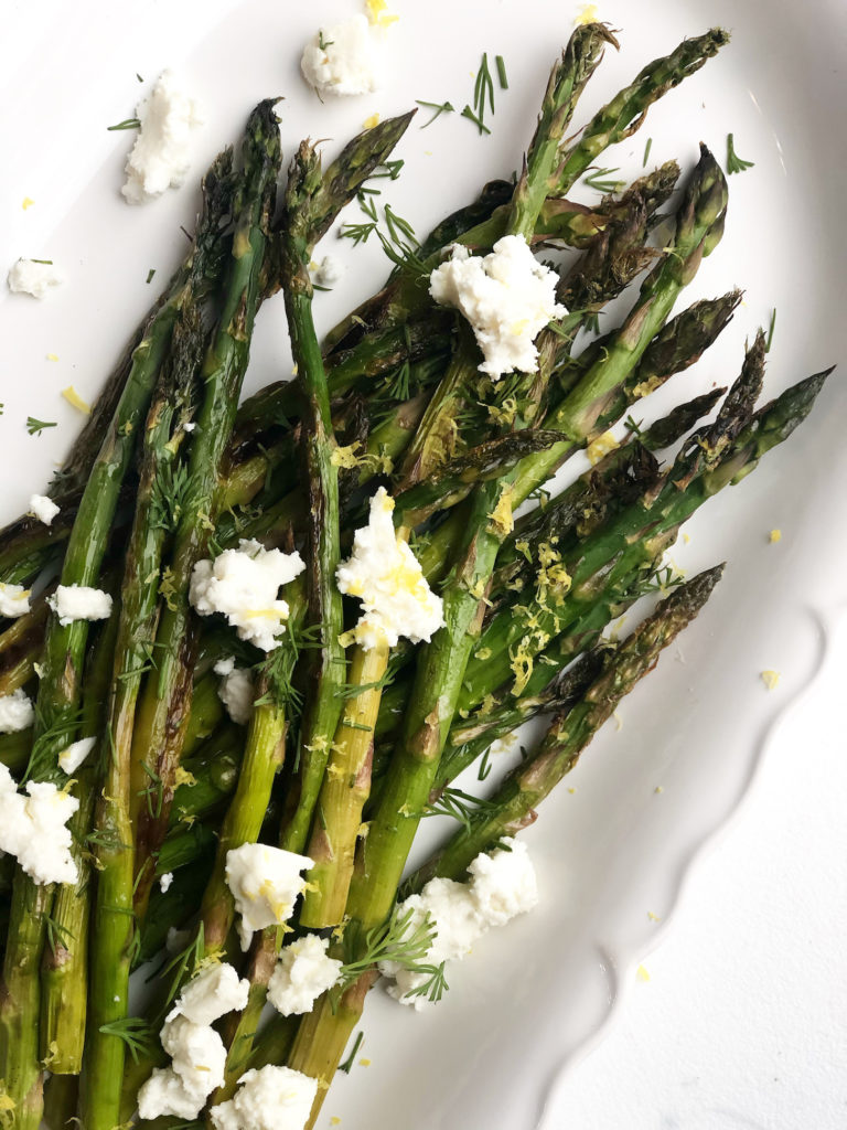 Roasted Greek Asparagus