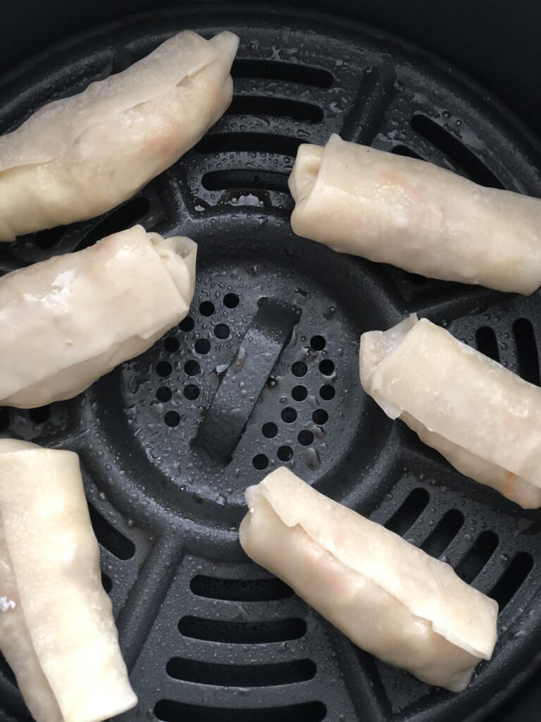 egg rolls in the air fryer