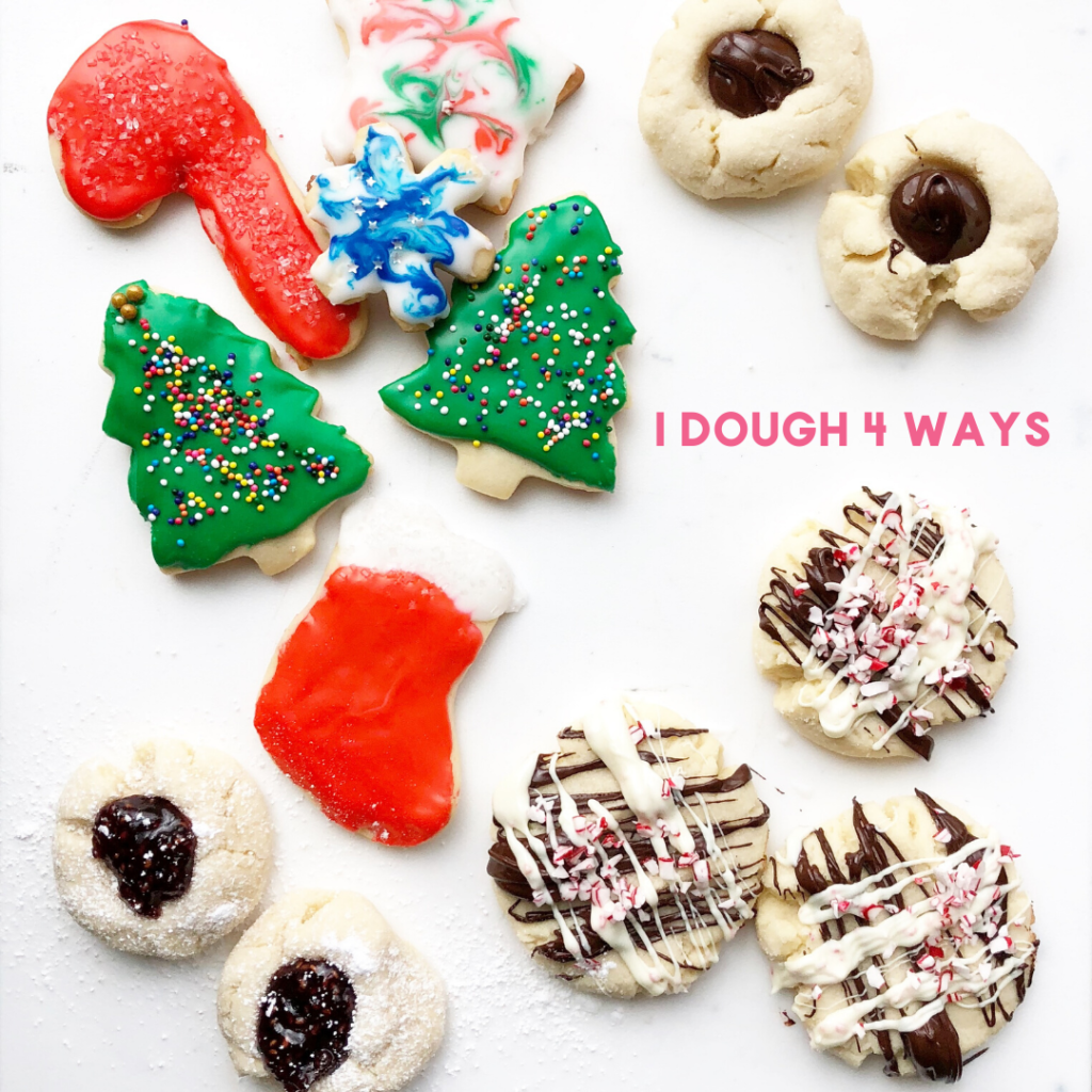 one dough 4 ways