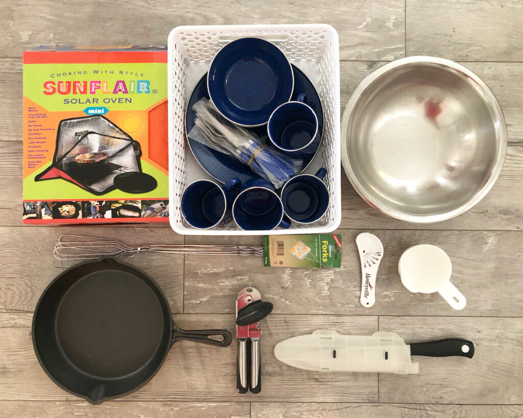 Cooking Supplies For Long Term Food Storage
