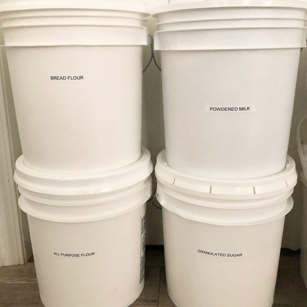 food storage bins