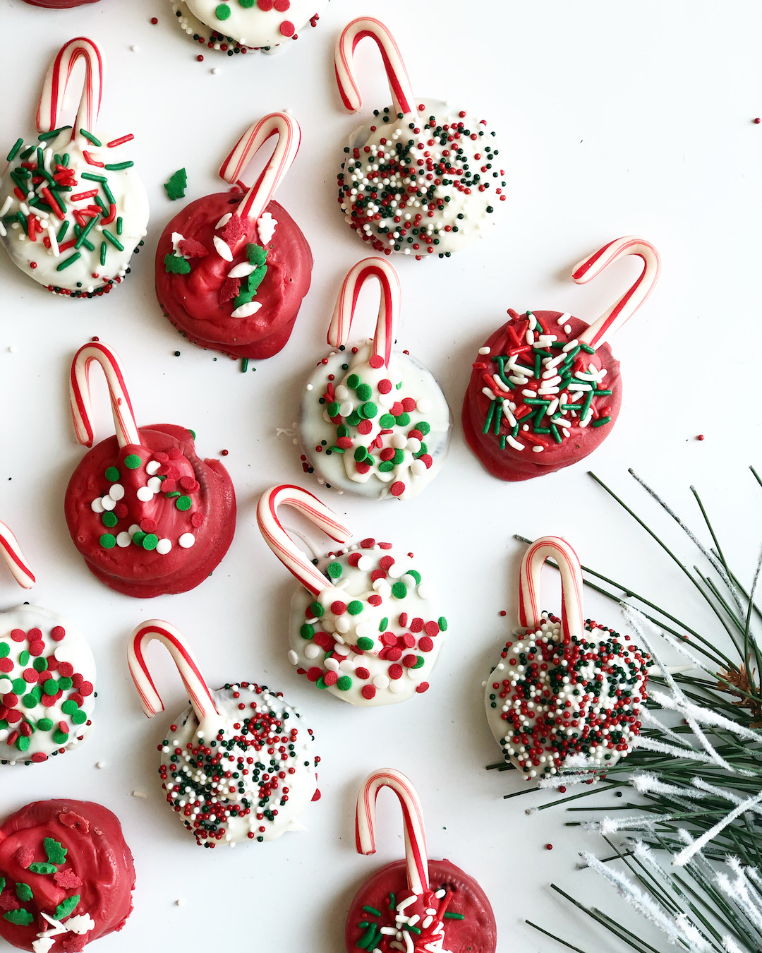 Oreo Christmas Cookie Ornaments