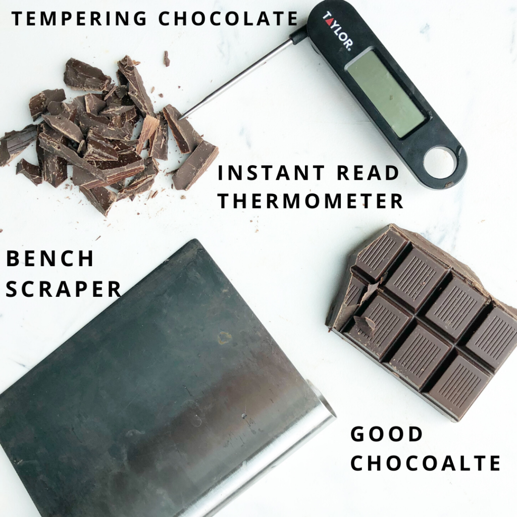 Supplies to temper chocolate