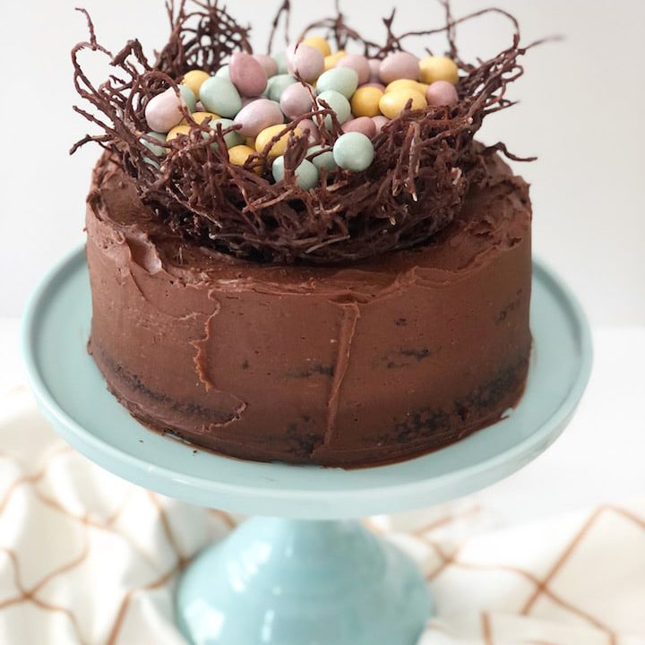chocolate nest cake