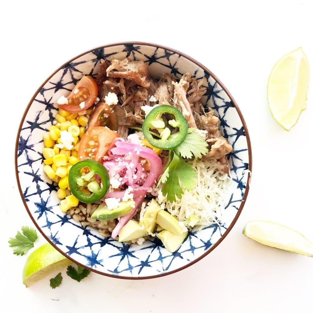 carnitas bowl