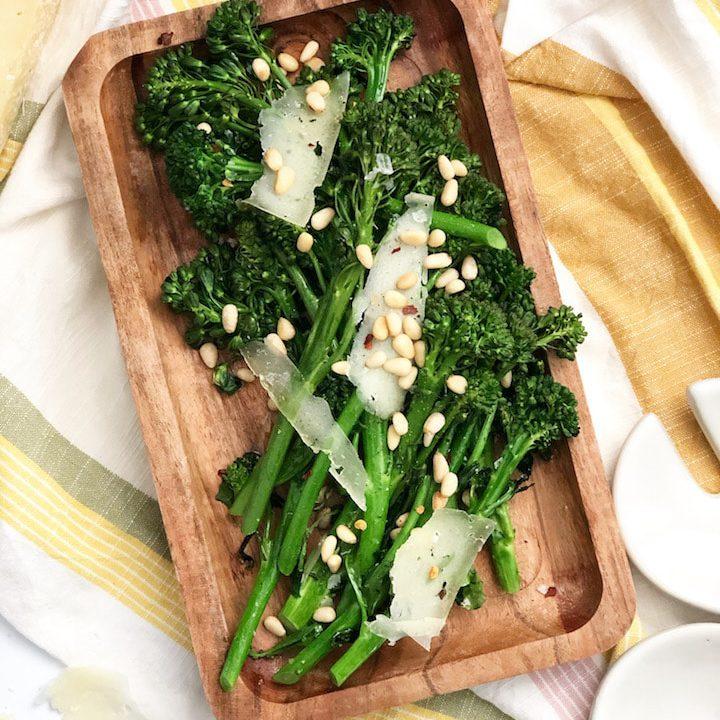 Roasted Broccolini With Pecorino
