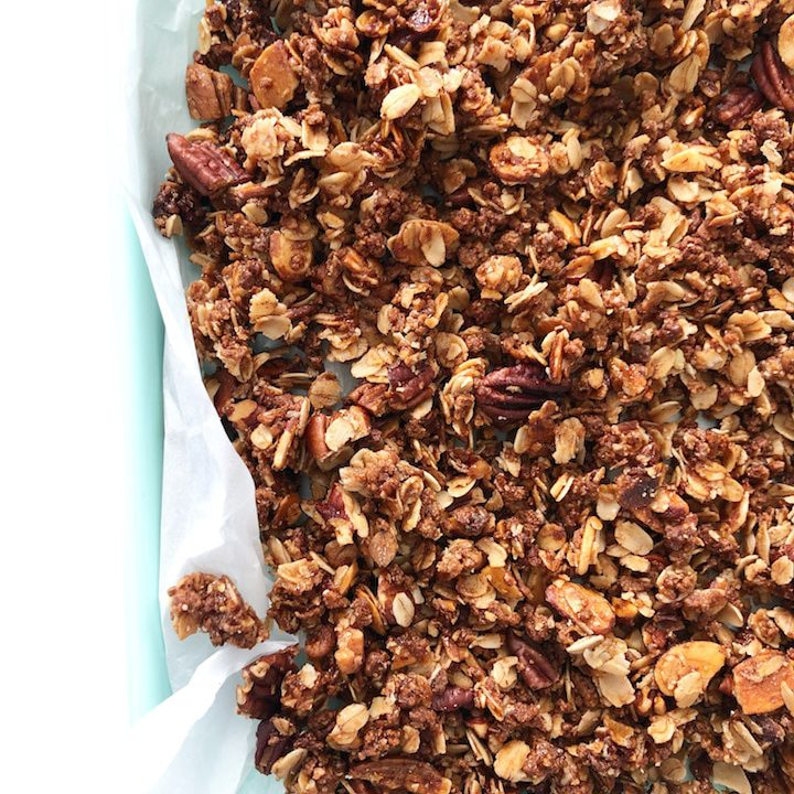 homemade cinnamon granola