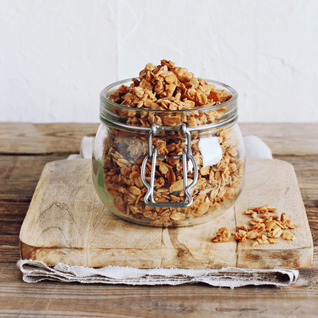how to store granola